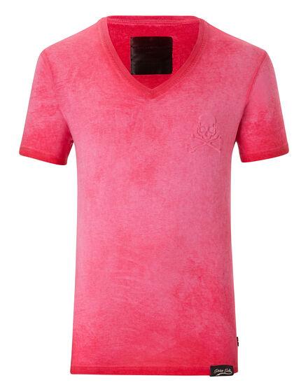 T-shirt V-Neck SS Downcast