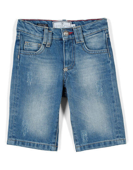 denim shorts trouble