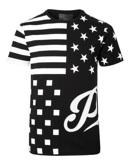 T-shirt Round Neck SS Aplike