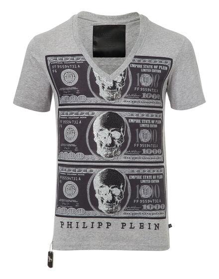 t-shirt v-neck money maker