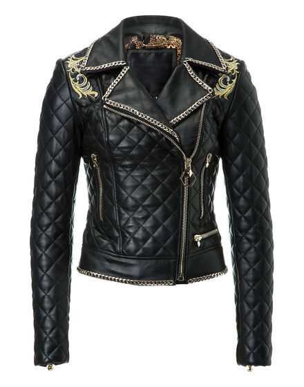 Leather Biker Kolours