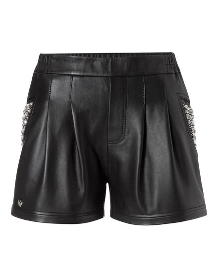 leather shorts bunraku