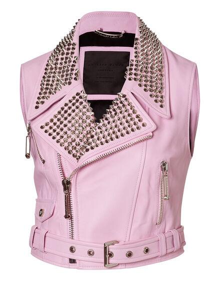 leather vest lucrezia