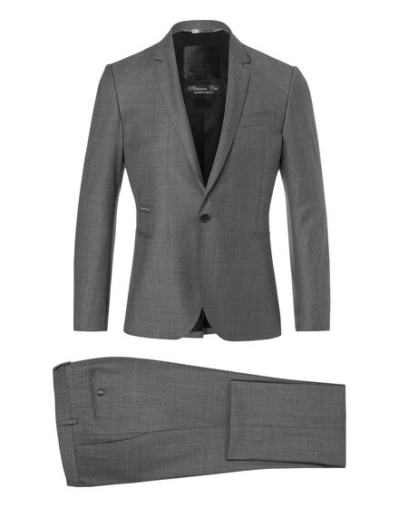"suit platinum cut ""letter"""