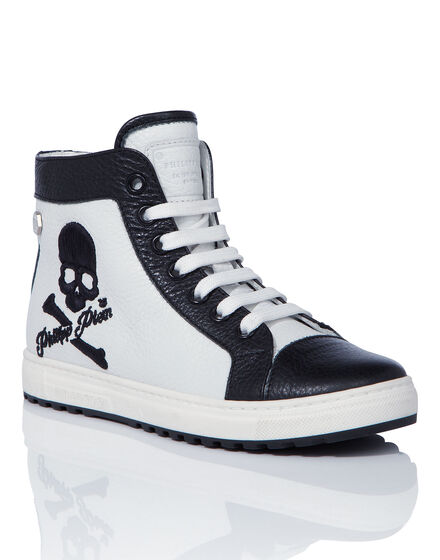 Hi-Top Sneakers Owl