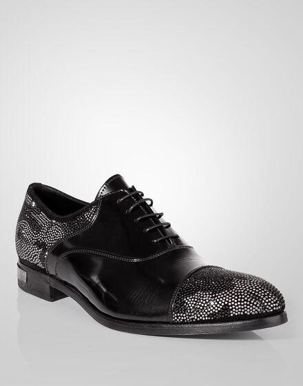 """lace-up shoe """"wavy"""""""