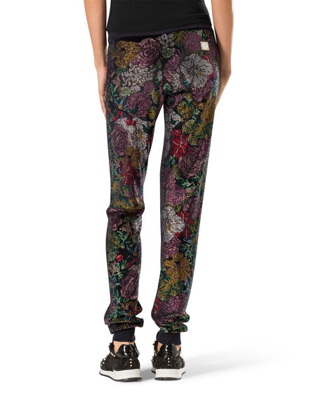 "jogging trousers ""orchid blossom"""