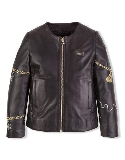 Leather jacket Cozy