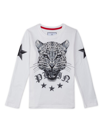 T-shirt LS Tiger attack