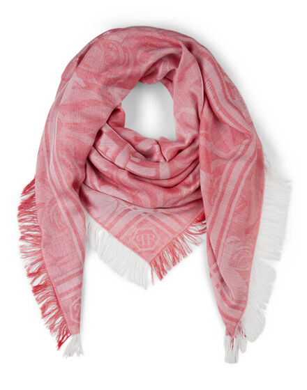 "square scarf ""lovely plein"""