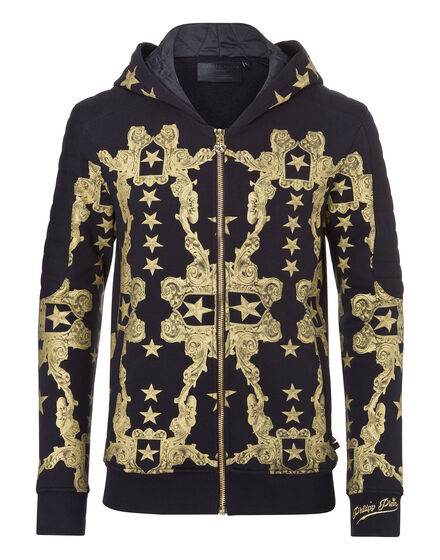 hooded jacket rococo