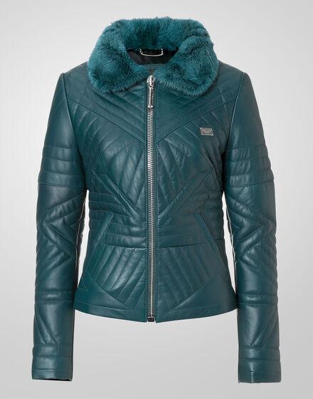leather jacket be stiff