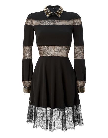 cocktail dress gladiolous