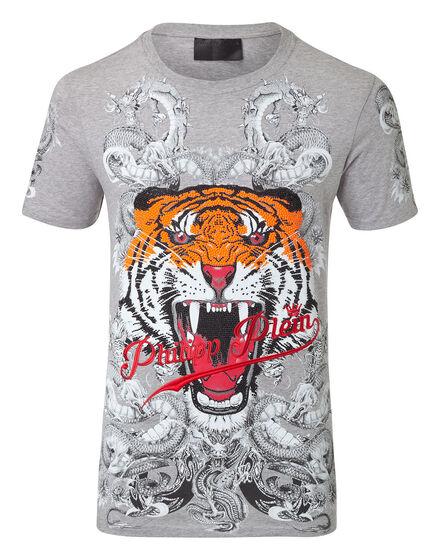 T-shirt Round Neck SS Philipp tiger