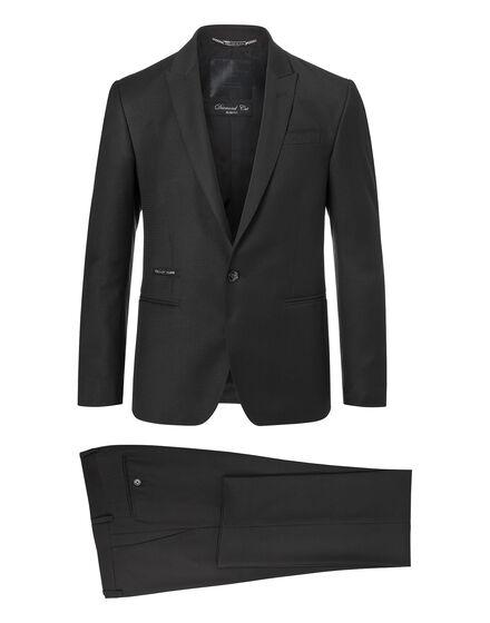 suit diamond cut fancy night