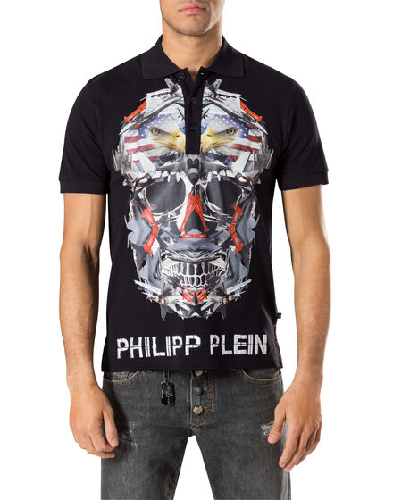 men s polos philipp plein outlet. Black Bedroom Furniture Sets. Home Design Ideas
