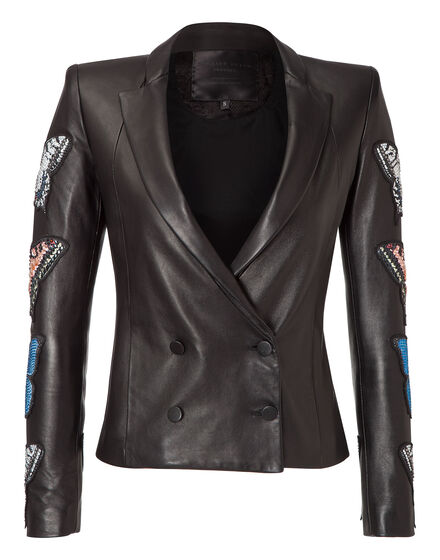 leather jacket cipriani