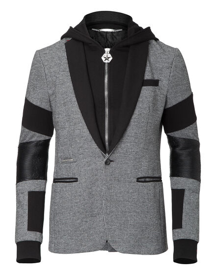 hooded blazer boys noise