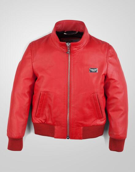 leather jacket amsterdam