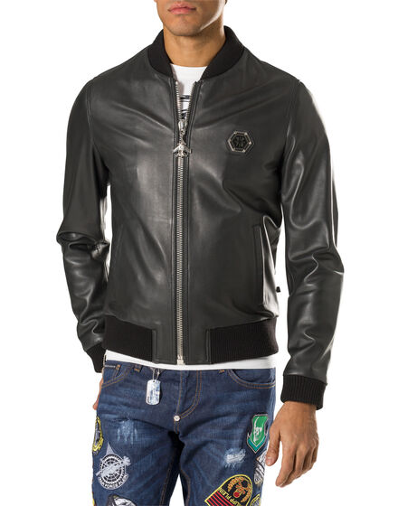 "leather jacket ""castlegar"""