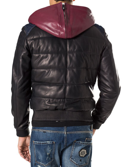 "leather jacket ""beaupre"""