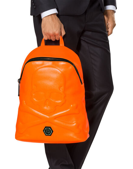 "small backpack ""neon skull"""