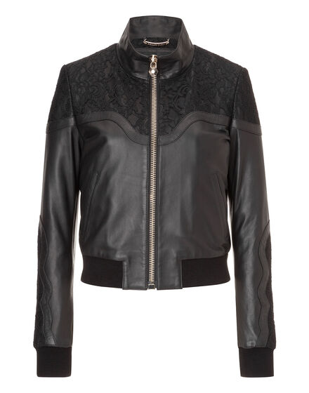 leather bomber unchained