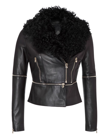 leather jacket limited access
