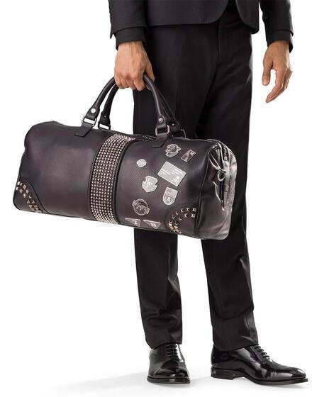 """travel bag """"no lord"""""""