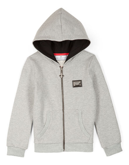 sweat jacket blurred lines