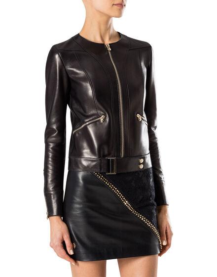 "leather jacket ""power power"""