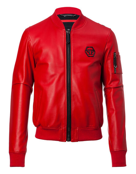 Leather Bomber Match