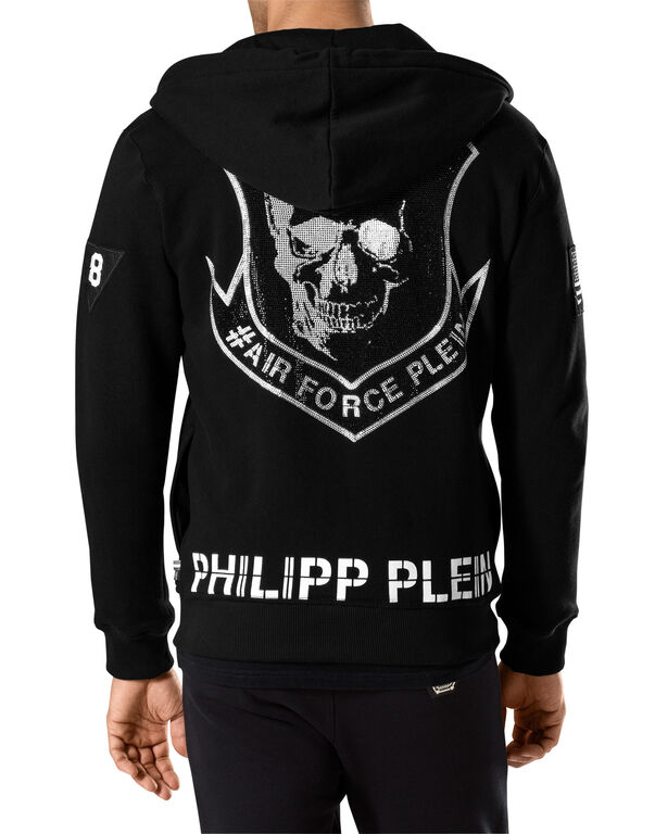 sweat jacket eagle philipp plein outlet. Black Bedroom Furniture Sets. Home Design Ideas