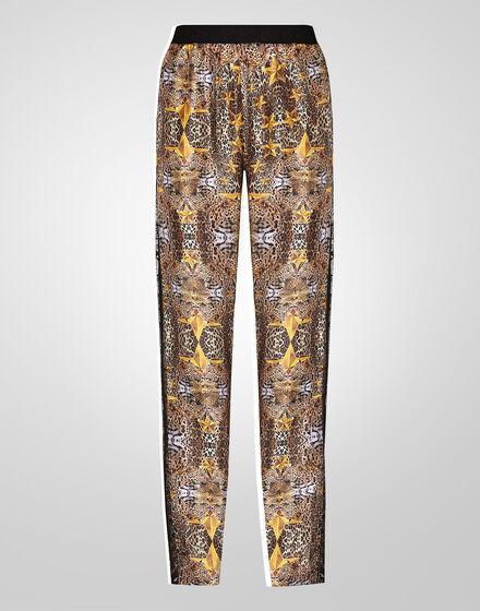 trousers hippie prints