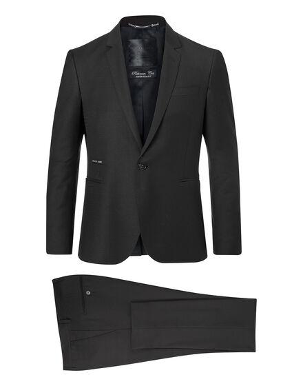 suit platinum cut fancy night