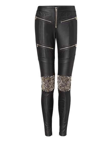 "leather trousers ""fontaine"""