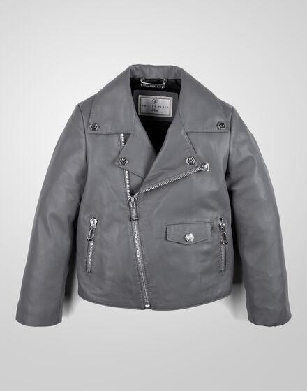 leather jacket biker