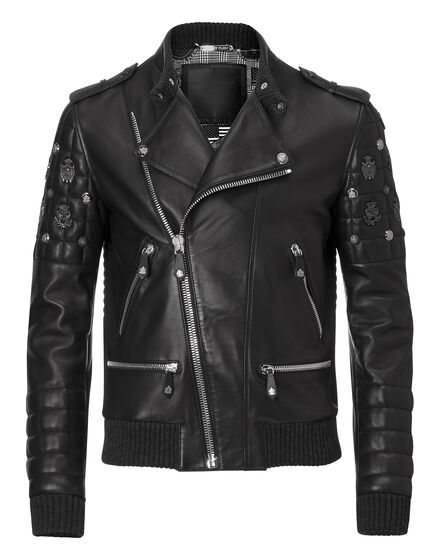 "leather jacket ""like the devil"""