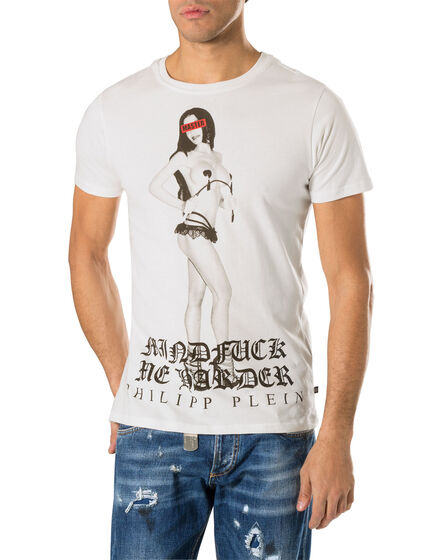 "t-shirt ""harder"""