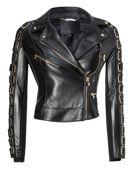 Leather Biker Euclase