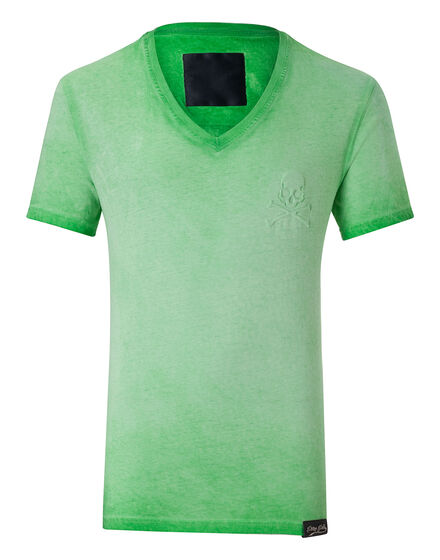 T-shirt V-Neck SS Downcast