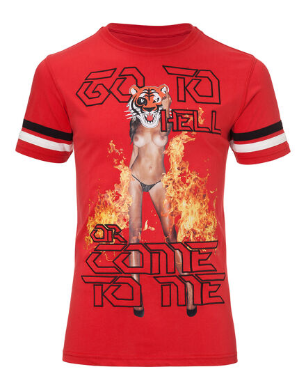 t-shirt go to hell