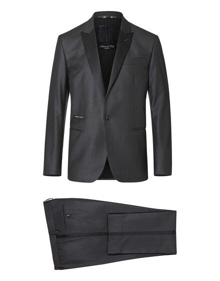 suit gold cut cross
