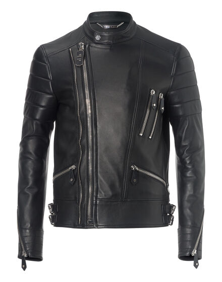 "leather jacket ""the perfect mix"""