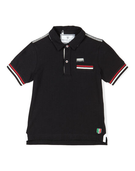 "polo short sleeves ""oh boy"""