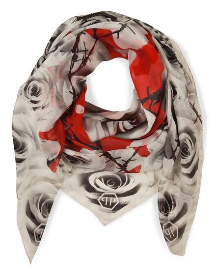 scarf chiffon romance