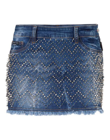 Denim Skirt Actinidia