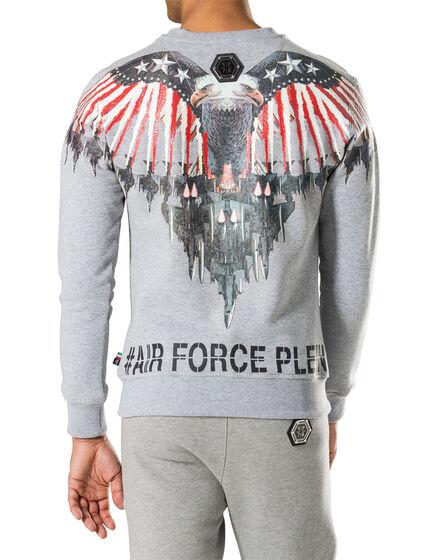 """sweatshirt """"de land"""""""