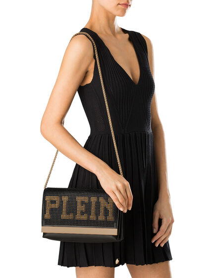 "shoulder bag L ""plein"""
