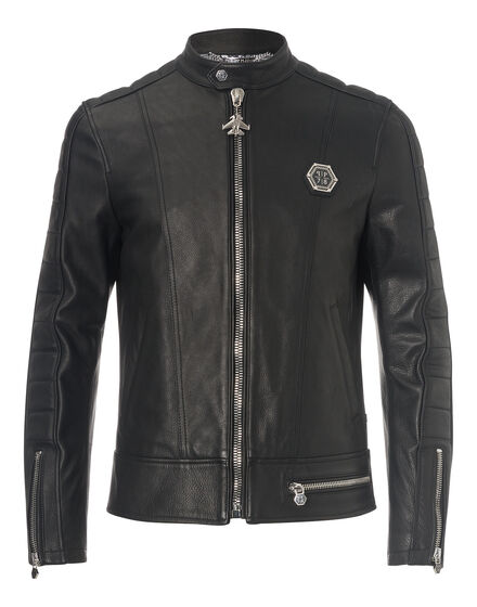 "leather jacket ""bad boy"""